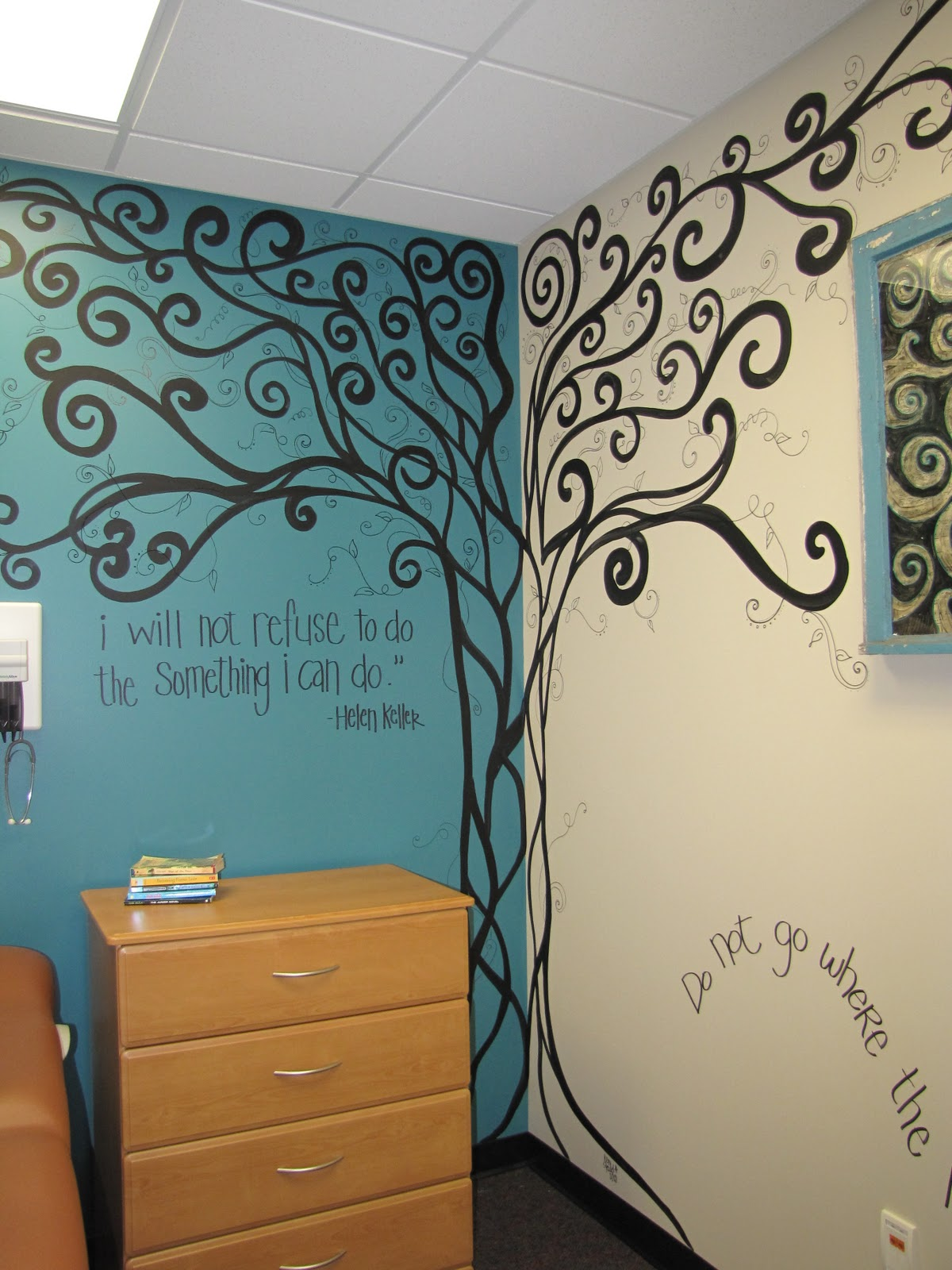 Creative genius art murals for Creative mural art