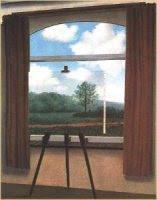 La Condition Humaine, de René Magritte