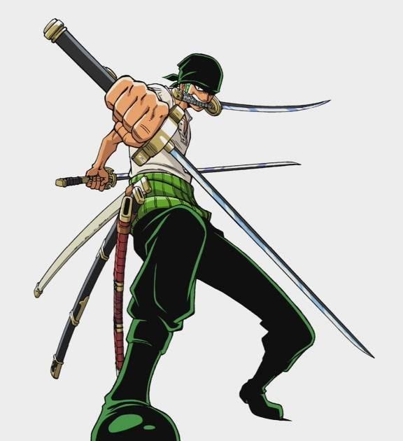 The Legendary Swords 6 Zoros Katana