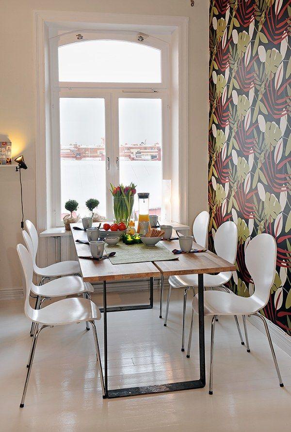 die wohngalerie gro formatige tapeten hingucker am essplatz. Black Bedroom Furniture Sets. Home Design Ideas