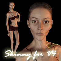 "Come and see us and pick up your free ""Skinny for V4″ Morph for Victoria 4 ..."