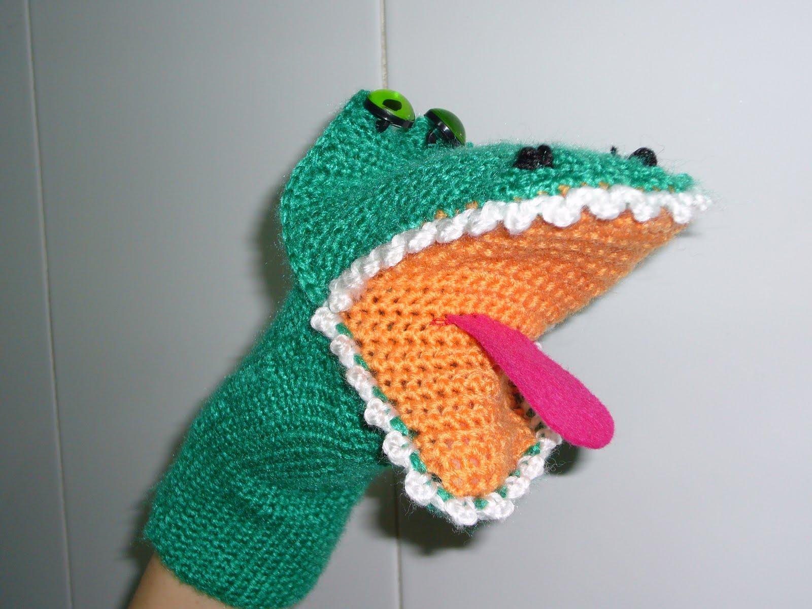 Más fácil de lo que creías: Marioneta de cocodrilo a ganchillo