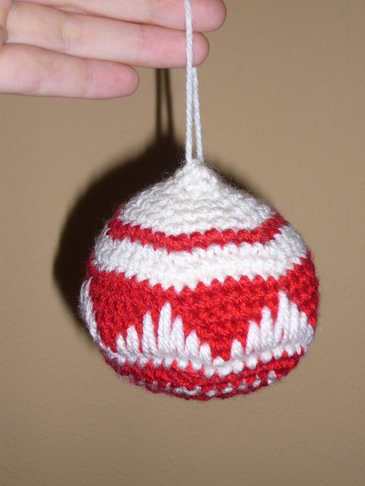 M s f cil de lo que cre as bolas de navidad a ganchillo - Bolas de ganchillo ...