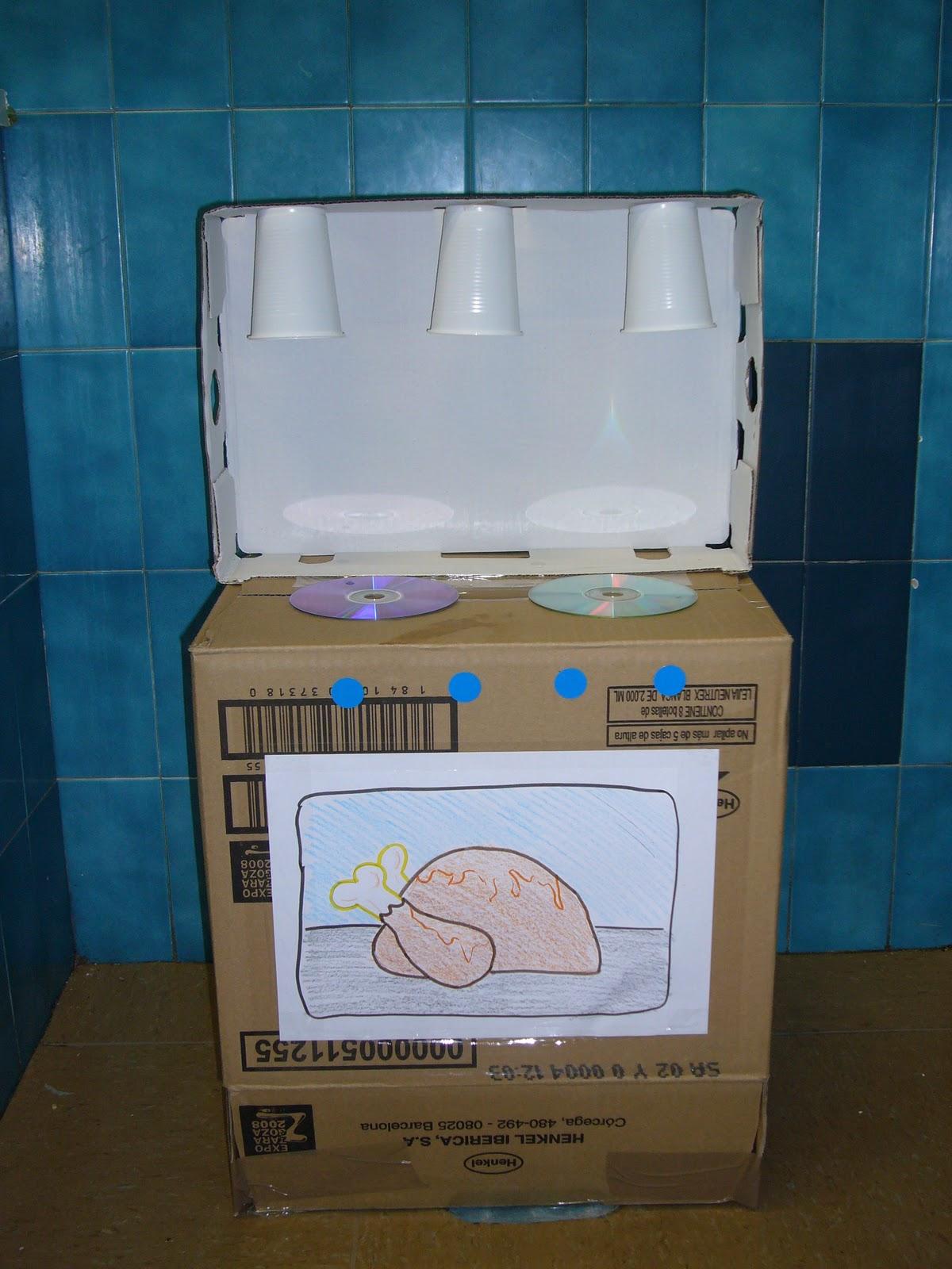 M s f cil de lo que cre as cocina de cart n - Hacer una cocina ...