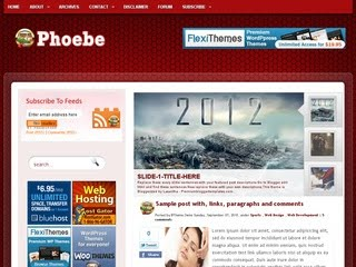 Phoebe Blogger Template