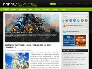 MmoGame Blogger Template