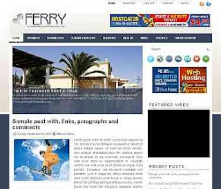 Ferry Blogger Template