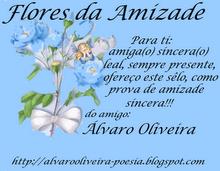 Amigos para sempre. Obrigada Alvaro