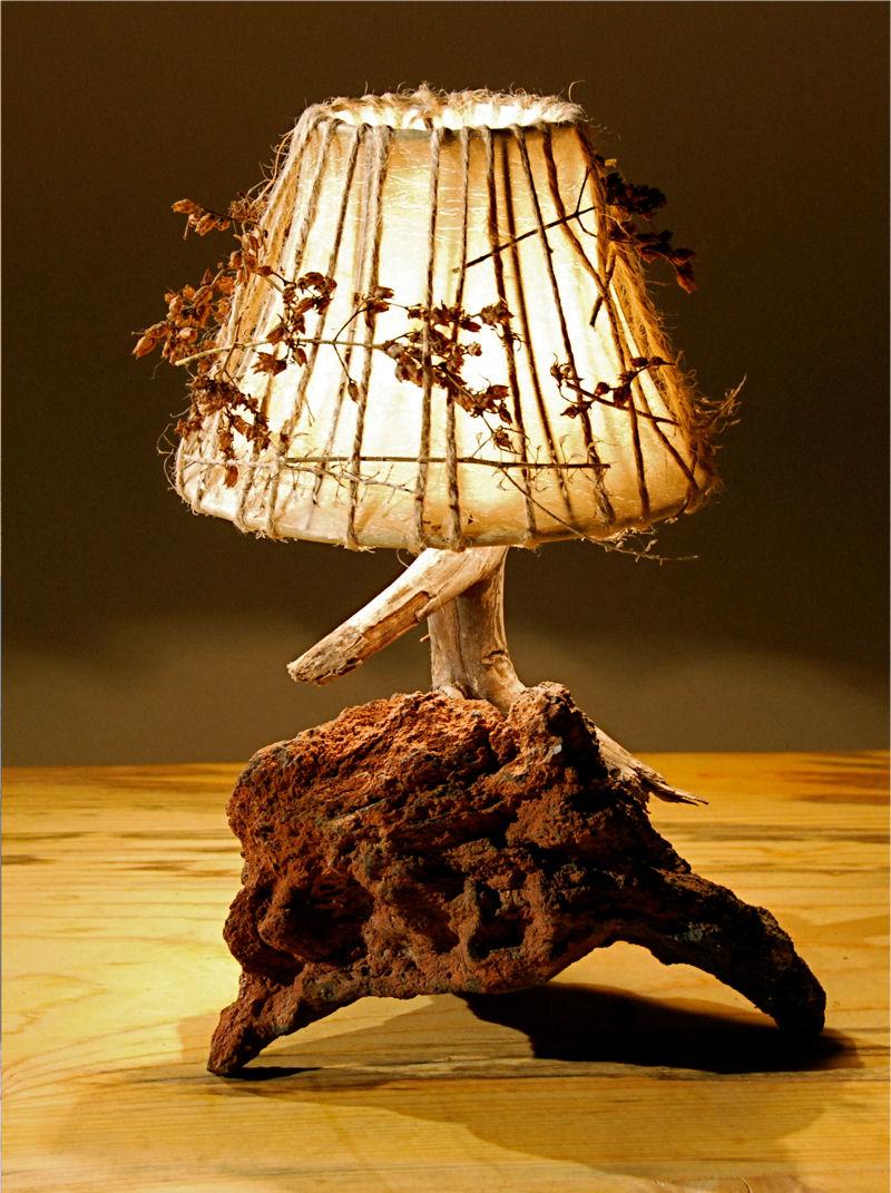 Lamparas rusticas iluminacion lamparas luces - Lamparas para cocinas rusticas ...