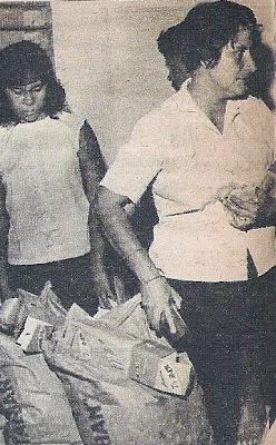 Union de de curacao, bonaire, aruba/ trinidad y tobago a Venezuela - Página 3 Leonor+de+Hart+a+su+llegada+a+Caracas-Enero+de+1969