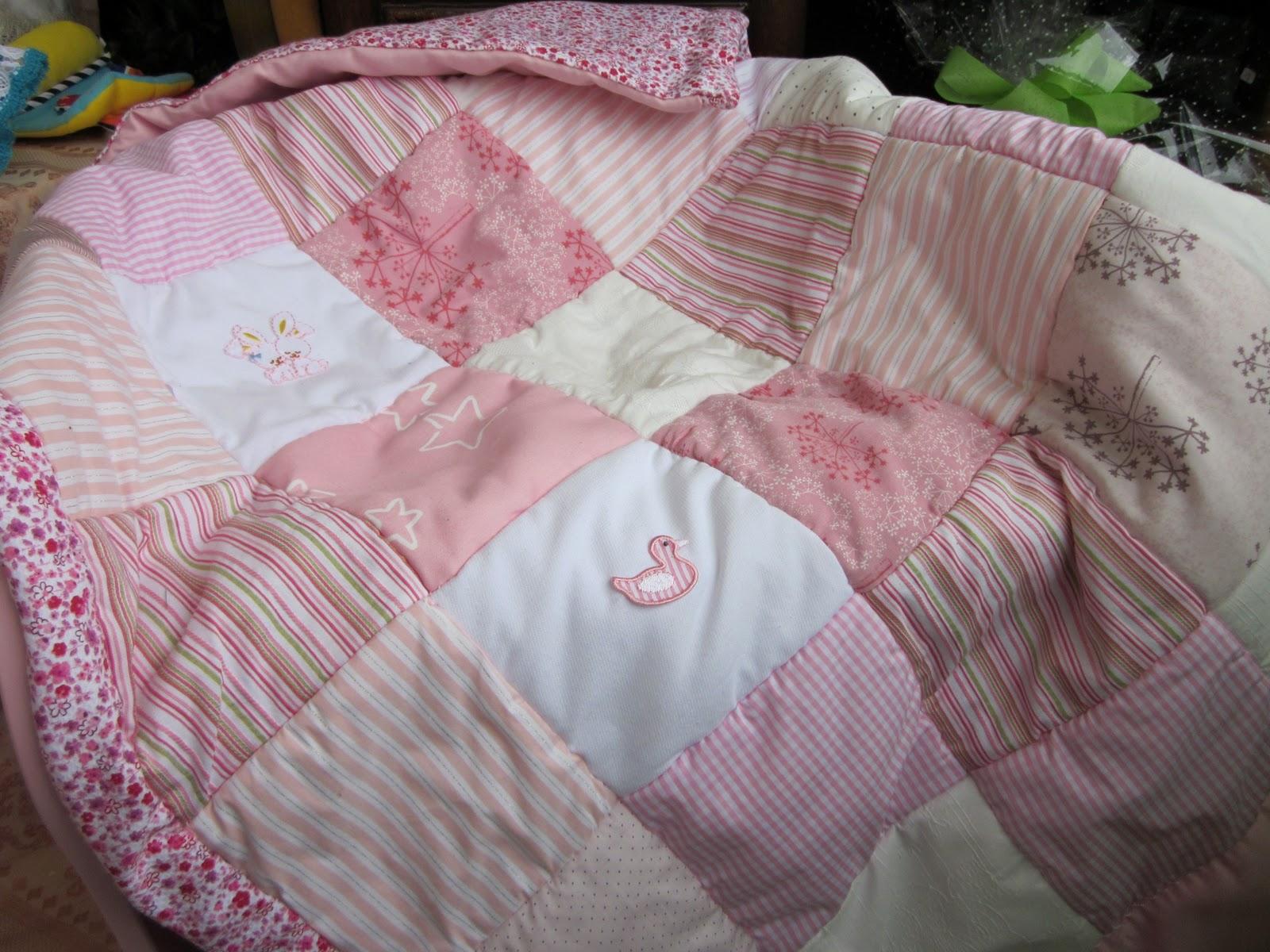 Yolanda eternamente yolanda para camas cunas minicunas - Colchas de patchwork hechas a mano ...