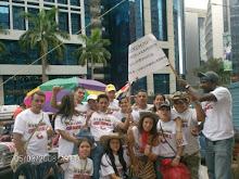 Marcha por la Paz...Caracas