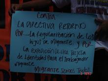 LOS ROSTROS DE LA MARCHA...
