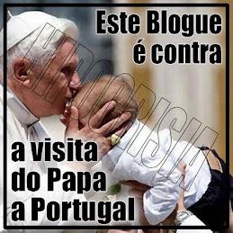 Ratzinger não és bem vindo