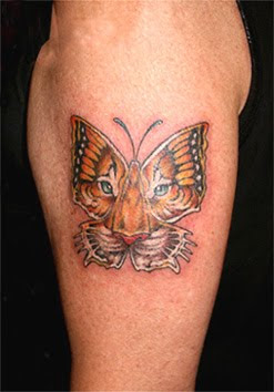 arm butterfly tattoo images