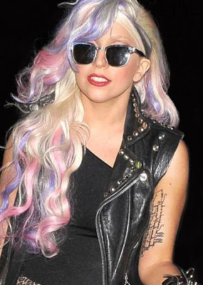 lady gaga tattoo images