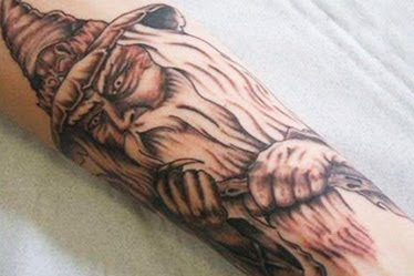 wizard tattoo images