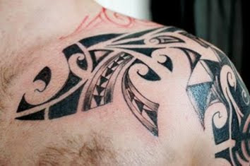 tribal shoulder tattoo designs