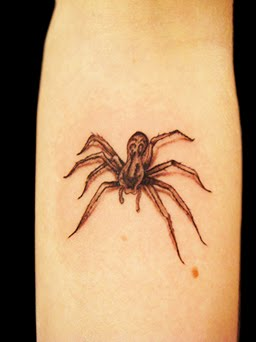 spider tattoo images