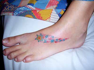 Shooting Star Tattoo Images