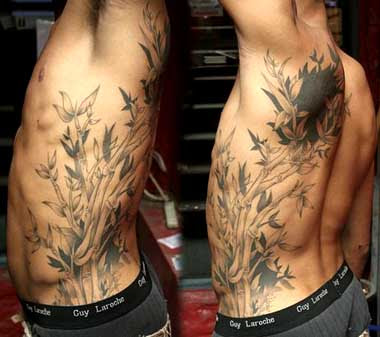 Bamboo letters tattoo designs | Tattoo designs