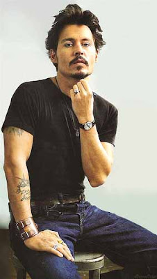 Johnny Depp tattoo designs