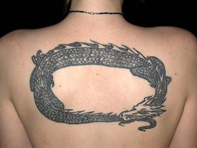 Tribal Dragon Tattoo Tribal Design