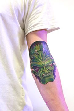 monster tattoo pictures