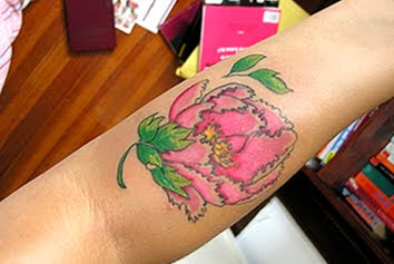 peony tattoo images