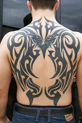 black tribal tattoo picture