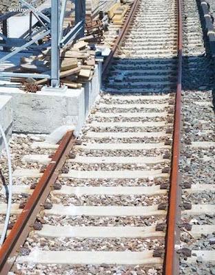 Jalur Rel Kereta Api Yang Aneh