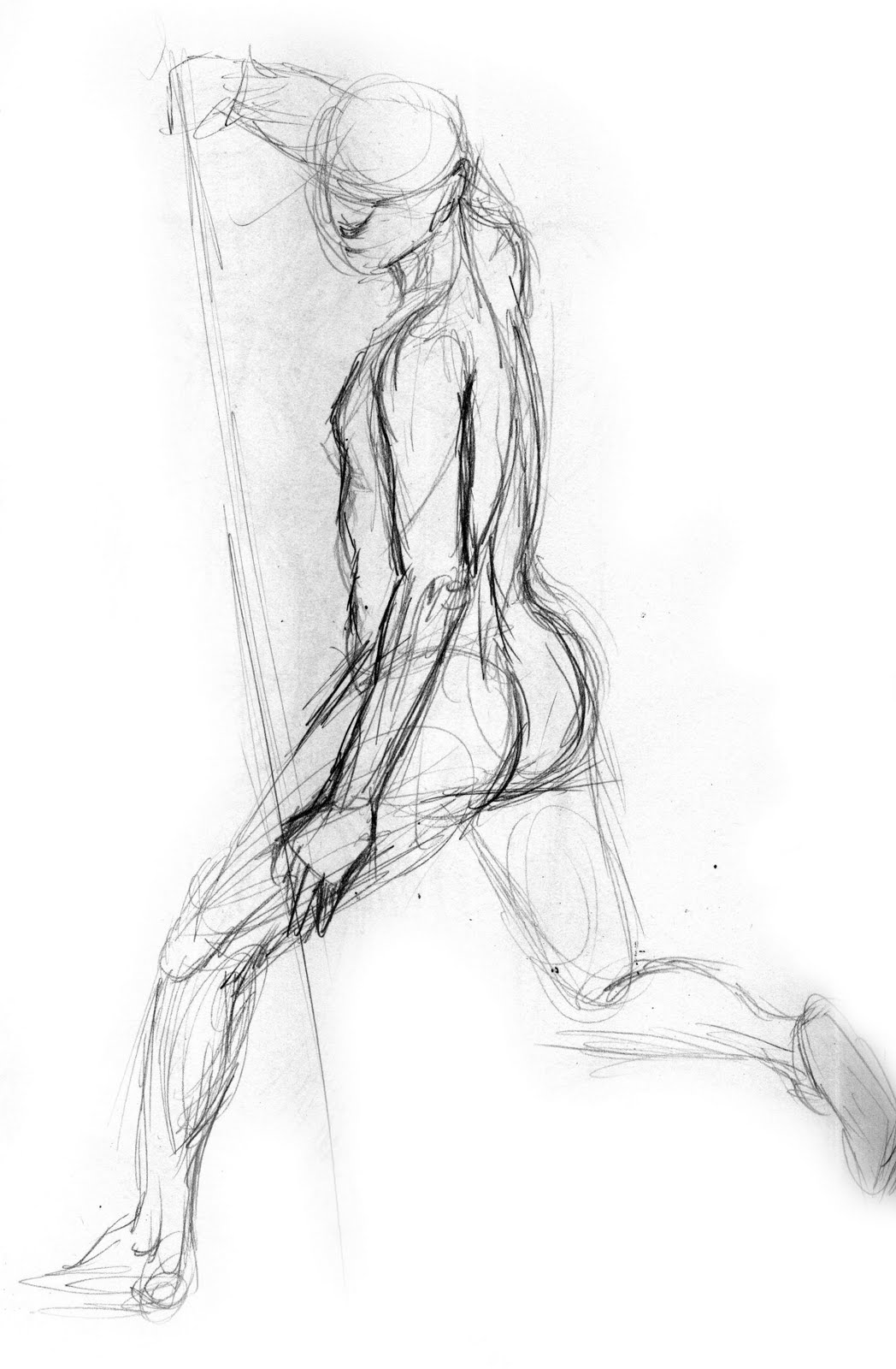 Life Drawing Male Figure