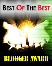 best of the best blogger award
