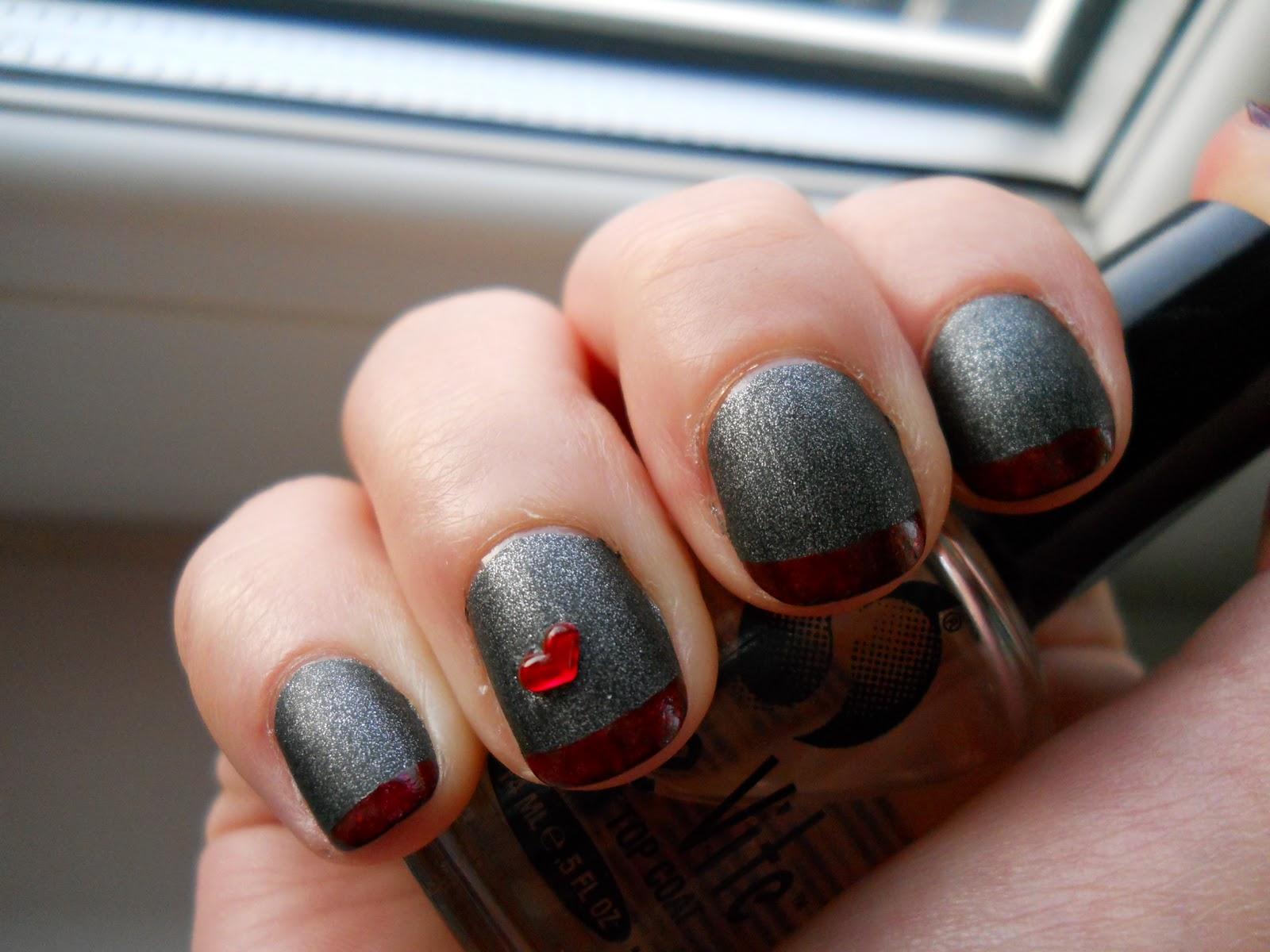All Polished: A vampy, dark Valentine\'s Day look
