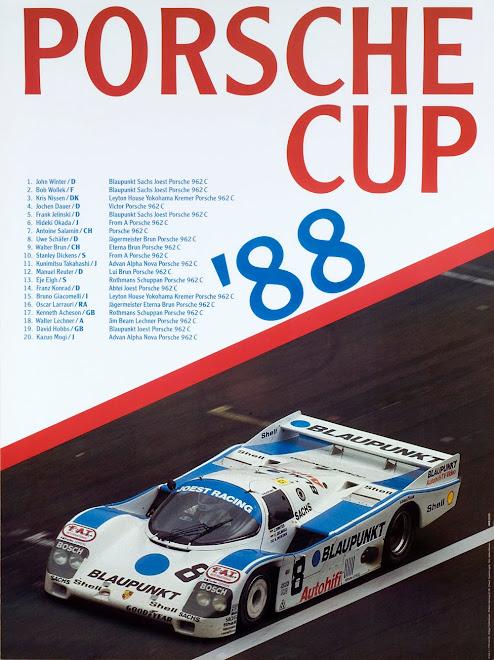 Original Steve Mcqueen Amp Porsche Race Poster Porsche