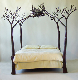 [tree+bed]