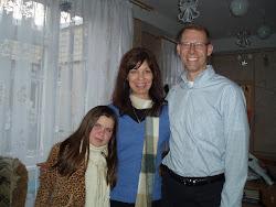 Vika, Mama, and Papa