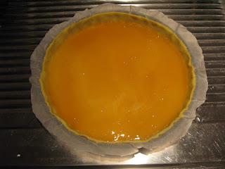 La tarte faite ce jour