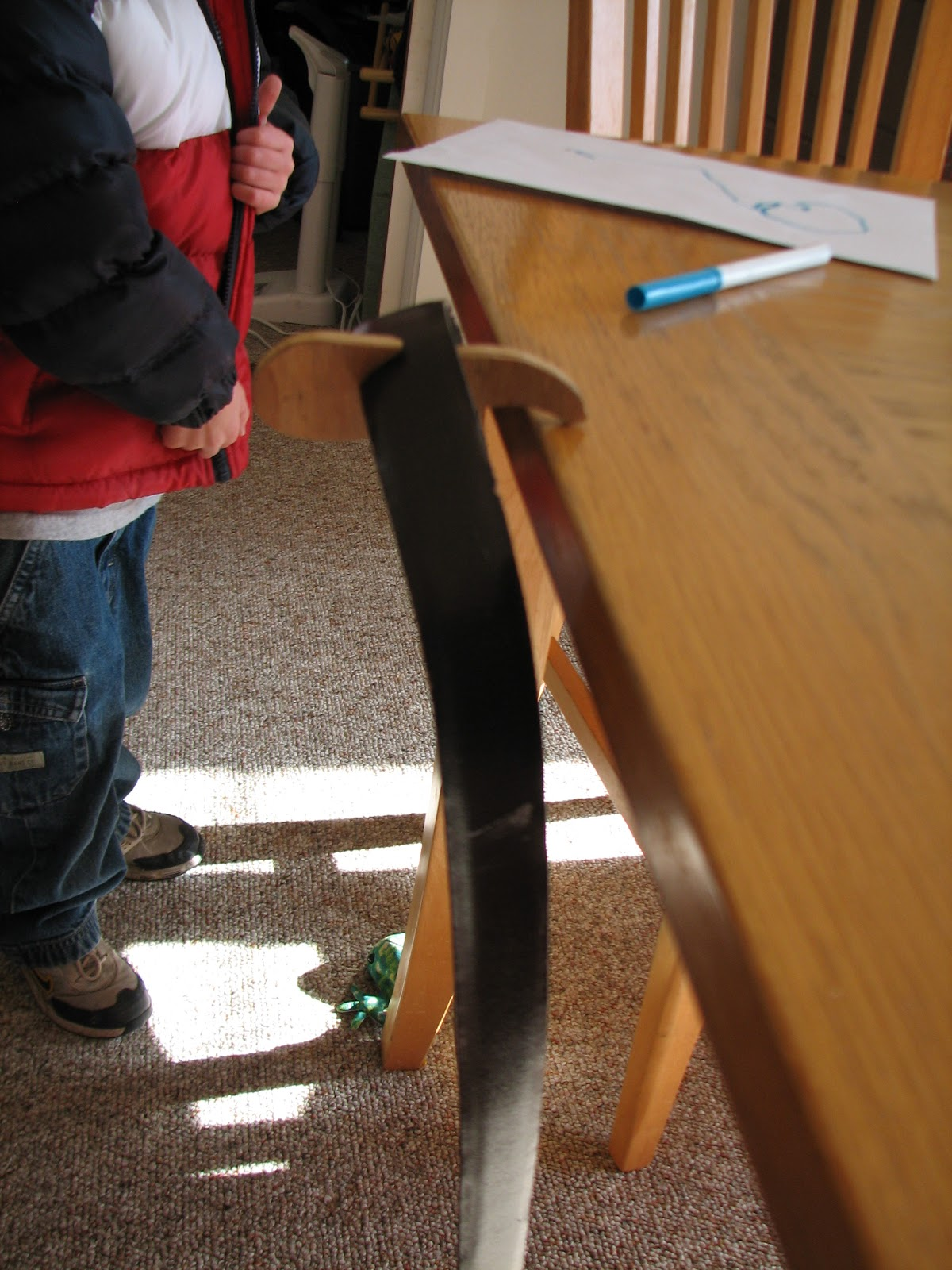Science matters how does that work gravity defying belt how about off the edge of a table gamestrikefo Gallery