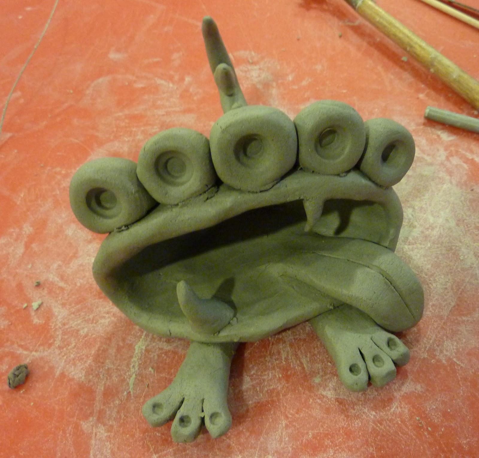 how to make clay monsters