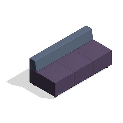 Revit components revit symbols coalesse 10 furniture lines for Sofa table revit