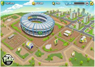 Novo estadio no bola social soccer