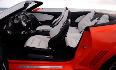 2011 Chevrolet Camaro Convertible Seat View