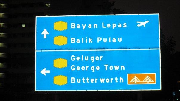 Papan tanda jalan