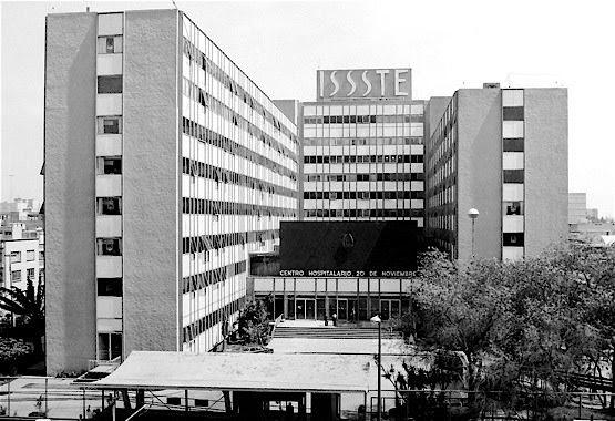 Arquitectura moderna mexicana hospital 20 de noviembre for Arquitectura mexicana moderna