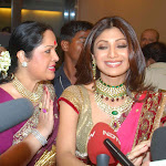 Actress Shilpa Shetty Raj Kundra Marriage reception Photos