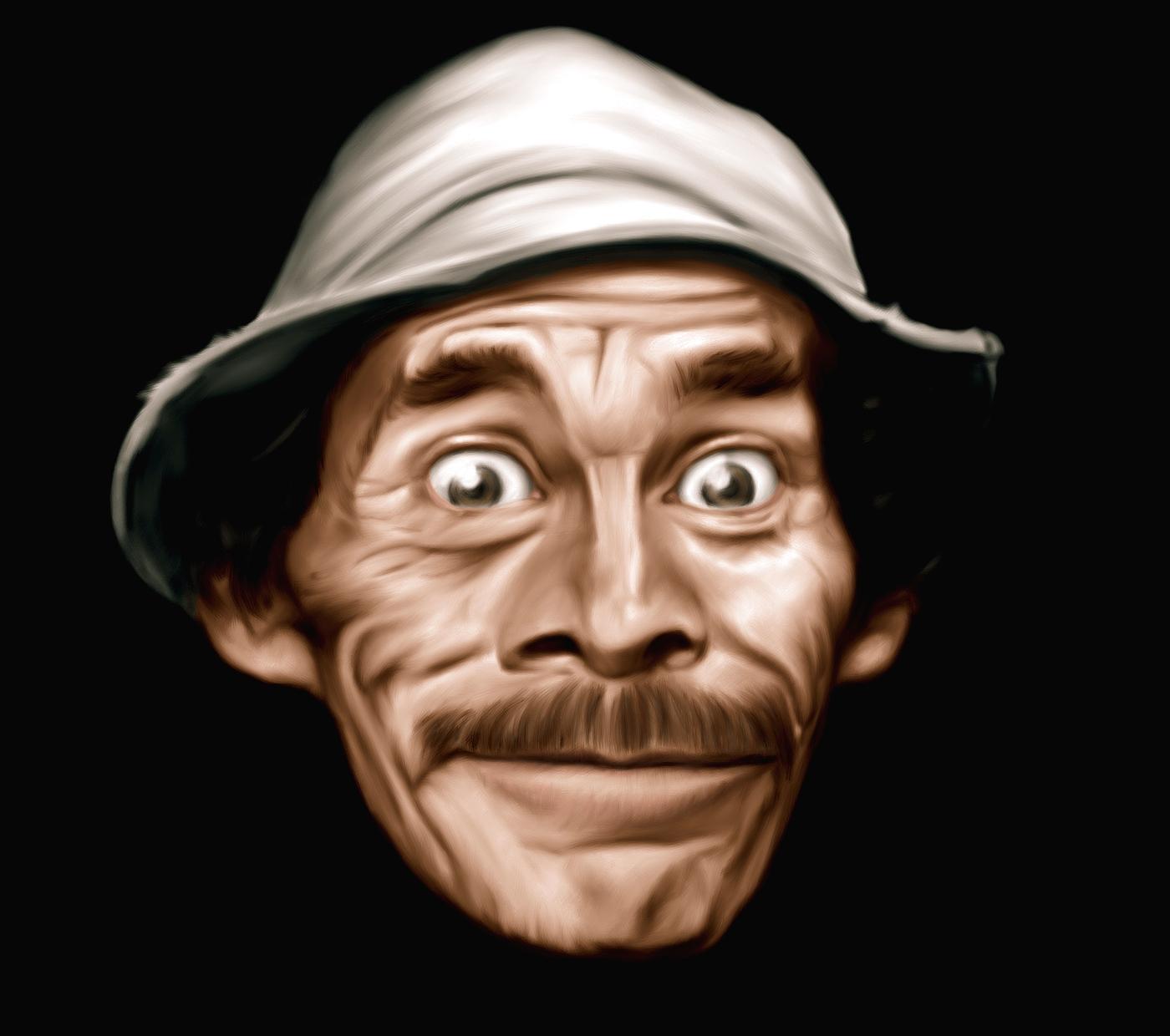 Don Ramón, personaje de la Vecindad del Chavo del Ocho