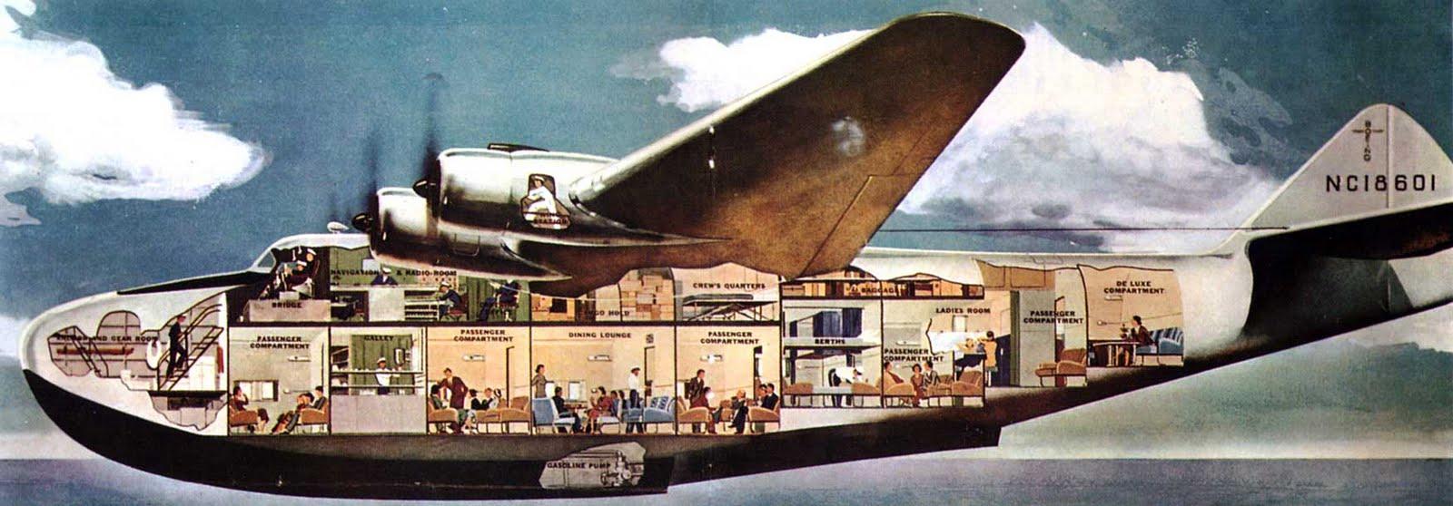"""El sitio de """"jactres"""" *: Boeing B-314 """"CLIPPER"""": Un coloso con"""
