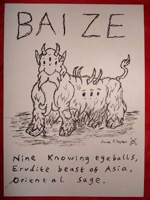james claytons monsterific mythscape day lxx bai ze