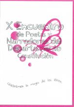 X Encuentro de Poetas y Narradores del Dpto Constitución